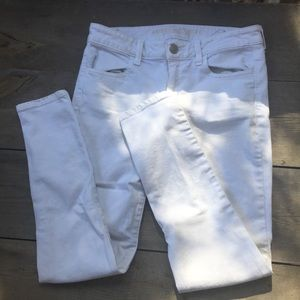 American Eagle Outfitters White Jeggings
